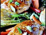 Sheet Pan Teriyaki Chicken and Vegetables