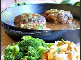 Simple Salisbury Steaks with Caramelized Onion Gravy