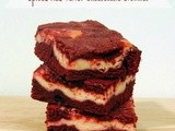 Spiced Red Velvet Cheesecake Brownies