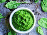 Spinach and Pistachio Pesto #SundaySupper
