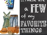 These Are a Few of My Favorite Things 8/15/14