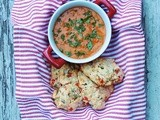Tomato Biscuits with Chorizo and Green Chile Gravy