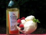 White Wine Ice Cream for an @GalloFamily #SundaySupper