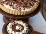 Be Still Brent's Heart, It is a Chocolate Ricotta Crème Tart