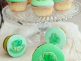 Creme de Menthe Cupcakes, the Luck of the Irish