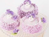 Fondant Frills and Sculpted Modeling Chocolate Easter Cake