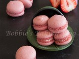 French Strawberry-Cherry Blossom Macaron Tutorial