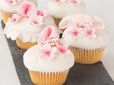 Good Fortune Cherry Blossom Cupcake Tutorial