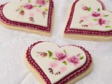 Limoges Inspired Wedding Cookies