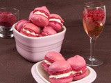 Raspberry-Champagne Macarons, a Toast to Love