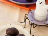 Trick or Truffle, Halloween Chocolate Coated Dulce de Leche Truffles