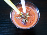 Orange-Banana-Strawberry Shake