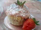Strawberry cupcake These cupcakes are