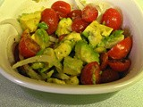 Avocado, Tomato and Sweet Onion Salad
