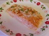 Creamy Onion- Garlic Salmon