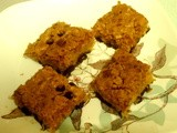 Passover Blondies with Chocolate Chips