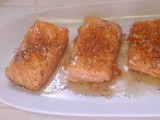 Poached Soy Salmon