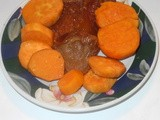 Sweet Potatoes and Dried Pears – Side