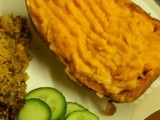 Twice Baked Creamy Sweet Potatoes