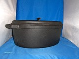 Enormous Staub cast iron French Oven (Oval)