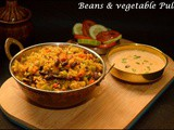 Beans & Vegetable Pulao