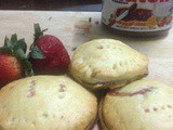 Nutella Strawberry Hand Pies