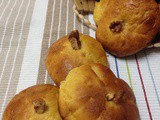 Pumpkin Dinner Rolls with Cinnamon Butter #BreadBakers