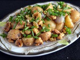 Warm, Caramelized Baby Potato & Onion Salad