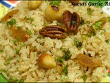 Xacuti Garlic Rice