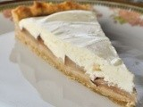 Crostata di pere asiatiche e formaggio Quark / Asian pear and Quark cheese tart