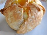 Mela al cartoccio salata / savory apple baked in puff pastry