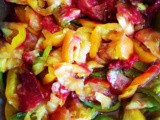 Pomodori semisecchi al forno / slow-roasted heirloom tomatoes