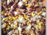 Radicchio and sweet corn / radicchio e mais dolce