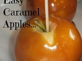 Easy Caramel Apples Recipe