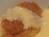 Almost instant really easy steamed syrup pudding