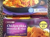 Chicken curry - two gf convenience meals