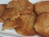 Double ginger biscuits- gluten, nut and dairy free