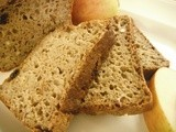 Maple,apple and raisin bread - gluten-free