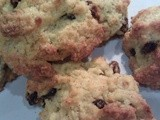 Simple rock buns - gluten and dairy free