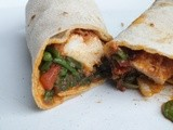 Spicy Samphire and Chicken wraps