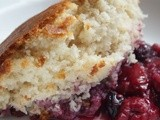 Summer berry cobbler, gf, tapioca free and corn free