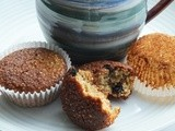 Toasted quinoa, blueberry and banana muffin