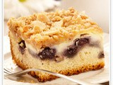 Blueberry Ricotta Cheese Coffee Cake recipe preparation method