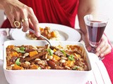 Lamb tagine with dates & sweet potatoes recipe