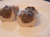 Cutlets filled with Minced Beef and Pistachio