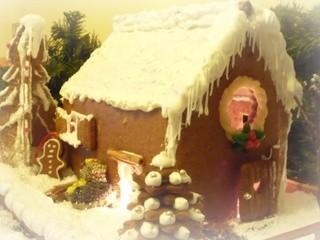 Casetta di pan di zenzero...(gingerbread house)