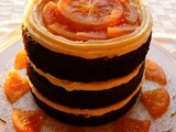 Naked  Chocolate Orange Cake