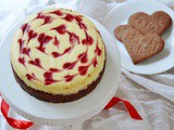 Raspberry Cheesecake (a Late Valentine's Day)