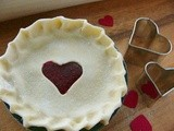 Valentine's Day Raspberry Mini Pies