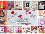 15+ Quick, Easy and Creative No Food Valentine's Day Class Handout Ideas